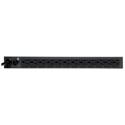 Tripp Lite PDUMH15 PDU Metered 120V 15A 5-15R 13 Outlet 5-15P Horizontal 1URM