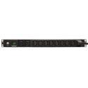 Tripp Lite PDUMH20HV PDU Metered 200V - 240V 20A 8 C13; 2 C19 C20 Horizontal 1URM