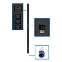 Tripp Lite PDUMV16HV 3.84kW Single-Phase Metered PDU 200/220/230/240V Outlets IEC309 16A Blue 16A 0U Vertical