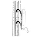 Tripp Lite PDUSIDEBRKT Bracket Accessory - enables Vertical Installation of 1U PDUs Power Strips and Surge Protectors