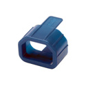 Tripp Lite PLC13BL Plug-lock Inserts keep C14 power cords solidly connected to C13 outlets BLUE color Package of 100