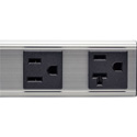 Tripp Lite PS120420 4-Outlet Vertical Power Strip 120V 15A 15 Foot Cord 5-20P 12 Inch