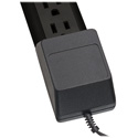Tripp Lite PS712B Power Strip 120V 5-15R 7 Outlet 12ft Cord 5-15P Black