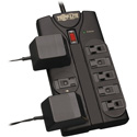Tripp Lite TLP808B Protect It 8-Outlet Surge Protector 8 Foot Cord 1440 Joules Black Housing