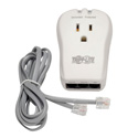 Tripp Lite TRAVELCUBE Protect It 1-Outlet Portable Surge Protector Direct Plug-In 1080 Joules Tel/Modem Protection