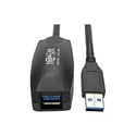 Tripp Lite U330-05M USB 3.0 SuperSpeed A/A Active Extension Cable USB-A M/F - 16 Foot