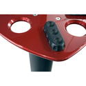 Ultimate Support ULT-MS90-36R Red Speaker Stands - Pair