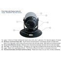 Vaddio 999-6911-000 WideShOT WallVIEW USB Point-of-View High Defintion Camera