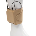 Viviana Straps VSTBK Ankle Wireless Transmitter Strap 4in x 15in Unstretched - Beige