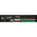 Ward-Beck AMS8-2AA Multichannel Audio Monitor w/Analog & AES/EBU Inputs 2 RU
