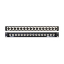 Ward-Beck IMP-8M8F Impedance Converter Panel - 8 Male/8 Female  XLR to BNC