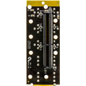 Ward-Beck T6302A openGear Analog to Digital Audio Converter-75 Ohm BNC/ 3-Pin analog Terminal Block Rear Module