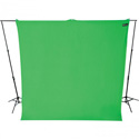 Westcott 130 Wrinkle-Resistant 9 Foot x 10 Foot Video Backdrop - Chroma Key Green