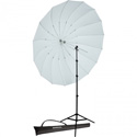 Westcott 4634 7ft Parabolic Umbrella - White / Black