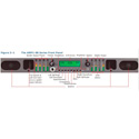 Wohler AMP1-S8DA 8CH Analog & AES/EBU Digital Audio Monitor w/Channel Summing