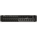 Yamaha TIO1608-D 16-Input/8-Output Dante Stagebox for TF Series Mixers
