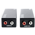 Zigen ZIG-AX 300 Meter Line Level Audio Over CAT-5a/6/7 Extender - Tx/Rx Set
