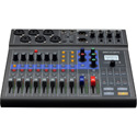 ZOOM L-8 LiveTrak 8-Channel Digital Mixer & Multitrack Recorder