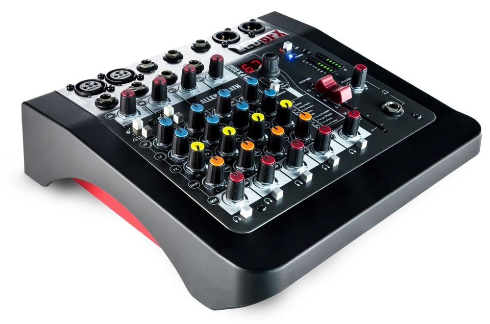 allen heath zed 6fx compact 6 input analogue mixer with fx. Black Bedroom Furniture Sets. Home Design Ideas
