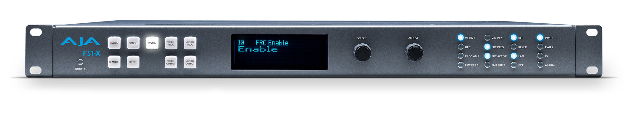 AJA FS1-X-FRC Frame Synchronizer and Converter with Frame Rate ...