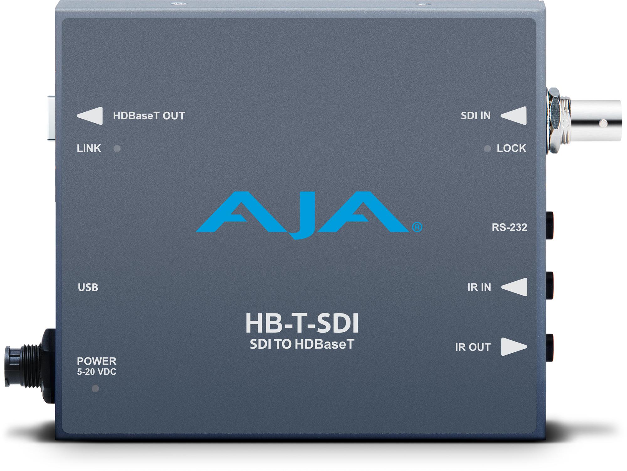 Aja Hb T Sdi Sdi To Hdbaset Mini Converter Transmitter