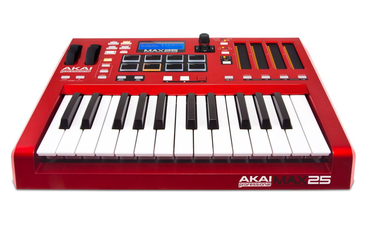 akai max25 compact usb  midi  cv keyboard controller