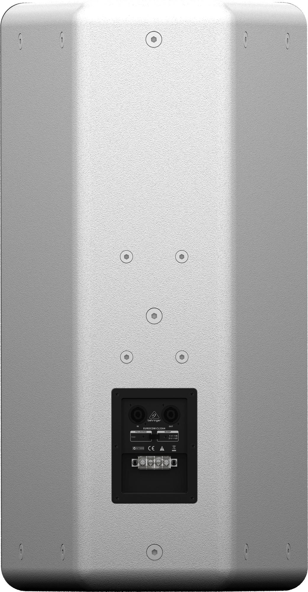 Behringer EUROCOM CL2264WH Mid-Size 200-Watt 2-Way 8 Ohm Loudspeaker ...