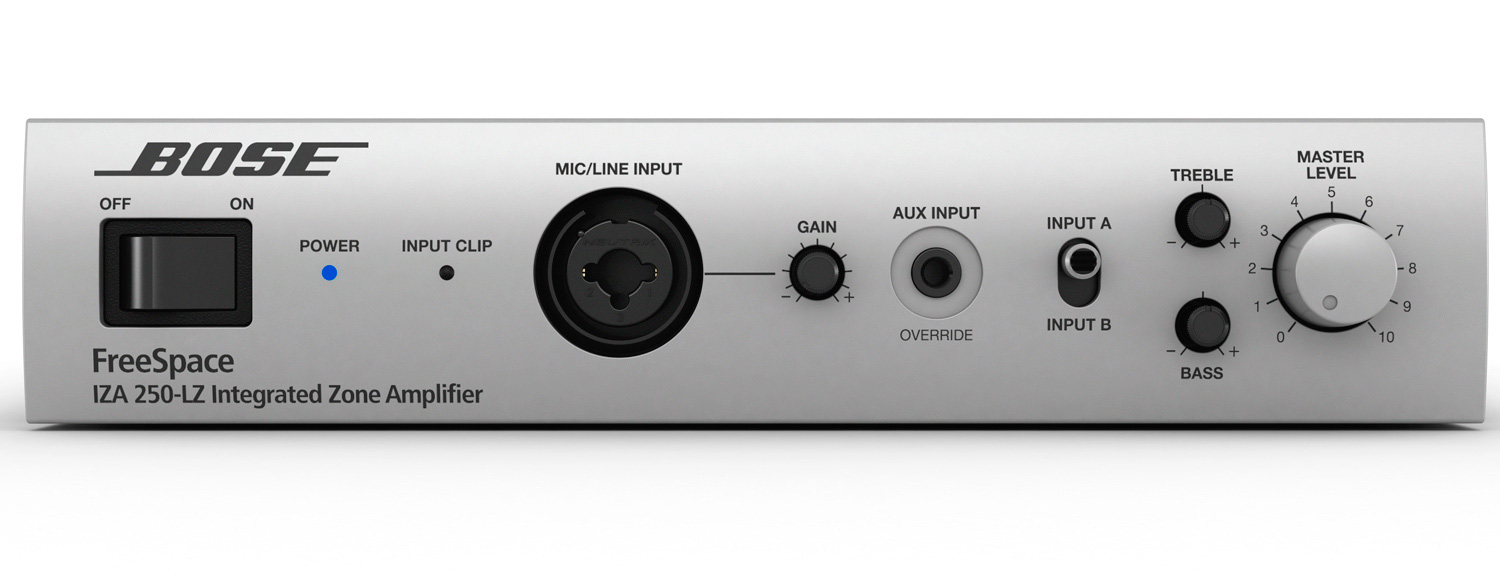 Bose Audio >> Bose FreeSpace IZA 250-LZ Integrated Zone Amplifier