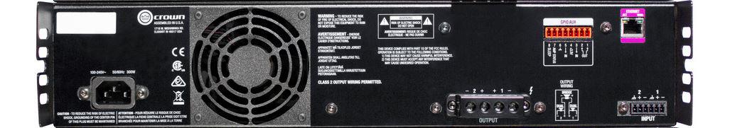 crown gcdi2x600 u us cdi 2600 2x600w power amplifier. Black Bedroom Furniture Sets. Home Design Ideas