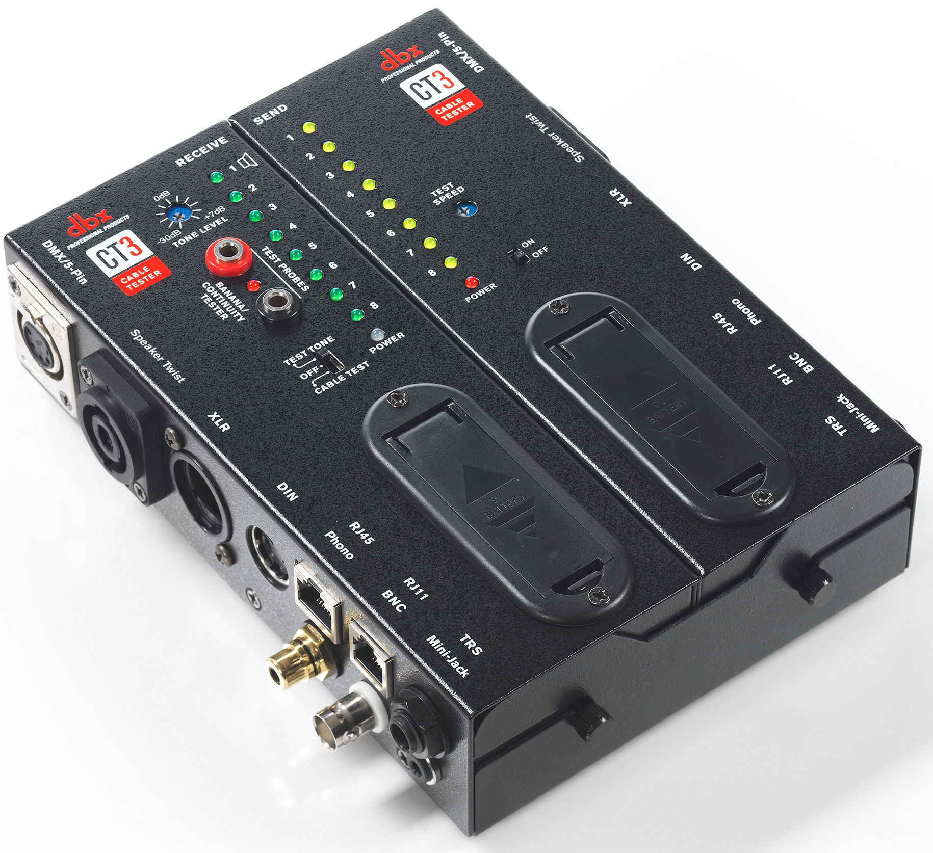 Audio Cable Tester : Dbx ct advanced multiformat multipin audio video cable