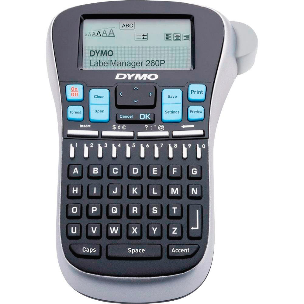 Dymo 1754490 LabelManager 260P Portable And Rechargeable