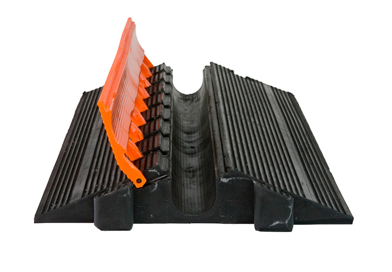elasco guards eg 1200 36 1 channel 2 inch heavy duty cable guard. Black Bedroom Furniture Sets. Home Design Ideas