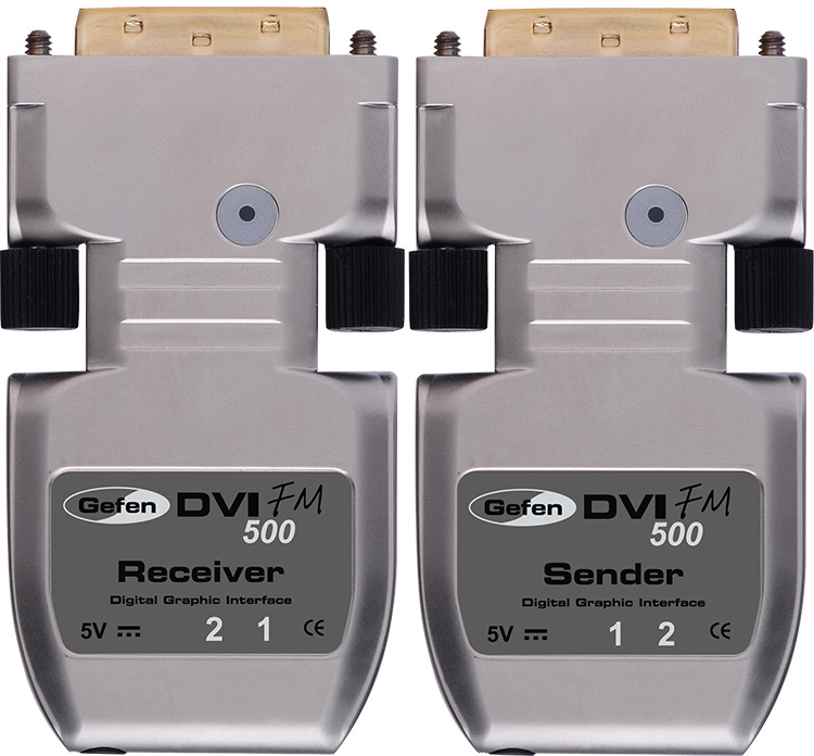 Gefen Ext Dvi Fm500 Over Fiber Optic Extender Patch Panel Wiring Diagram