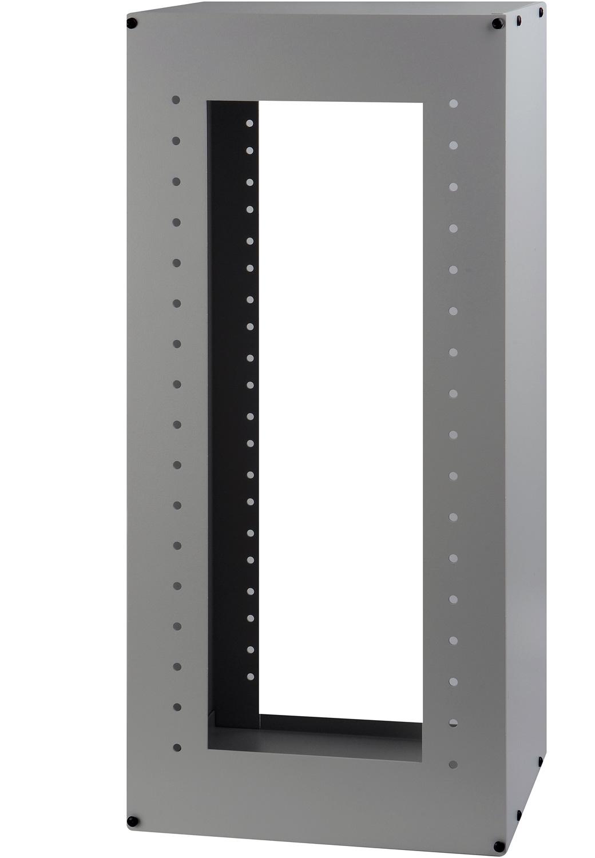 All Metal Desktop Half Rack Rackmount Cabinet 9W x 8D x 20H