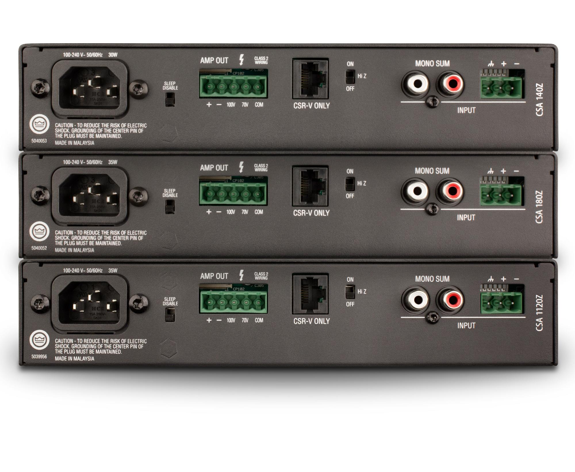 Jbl Csa140z 40w 1u Commercial Drivecore Amplifier Built