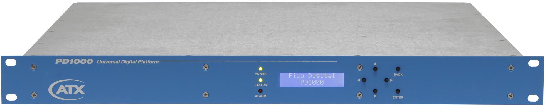 Pico Digital PD1000-4 4 Channel HD/SD Encoder (1xPD1000 2xEM-2HD 1xOM4)