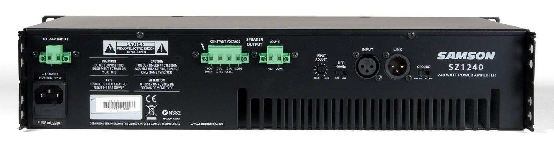 samson sz1240 power amplifier. Black Bedroom Furniture Sets. Home Design Ideas