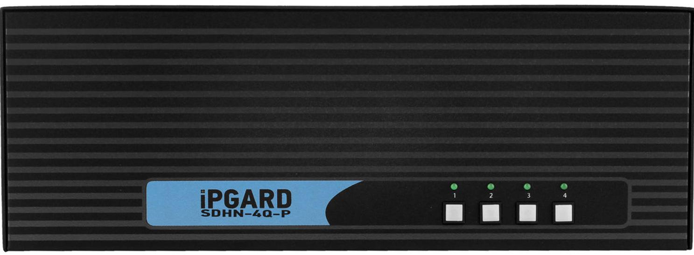Smart Avi Sdhn 4q P Secure 4 Port Quad Head Displayport To