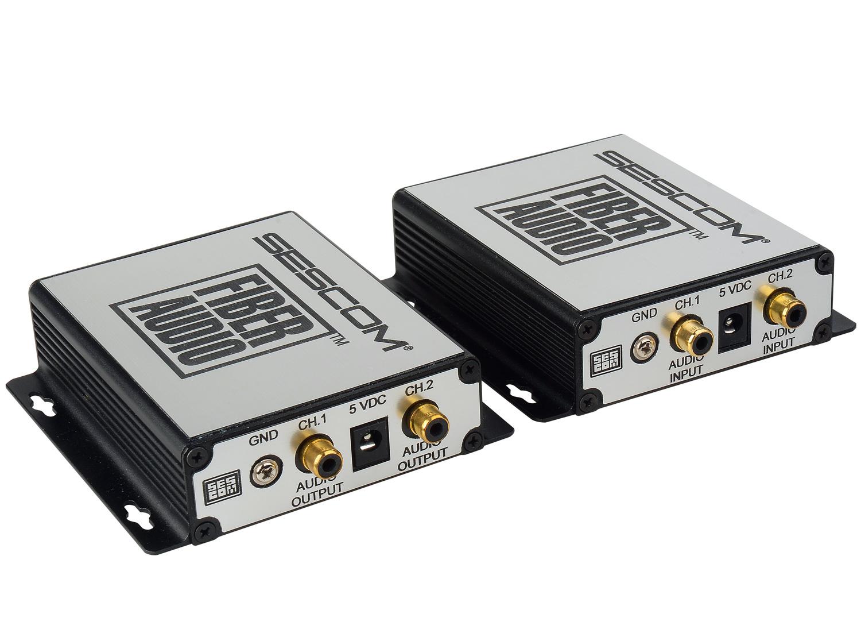 Sescom Ses Fa1 2 Channel Unbalanced Line Level Audio Over