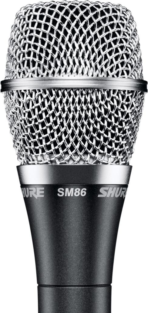 Shure SM86 Cardioid Condenser Handheld Microphone