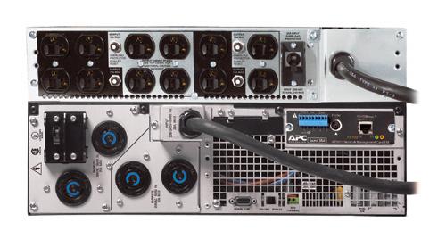 APC SURT6KRMXL3U TF5 UPS RT 6KVA RM 208V 208V to 120V 2U