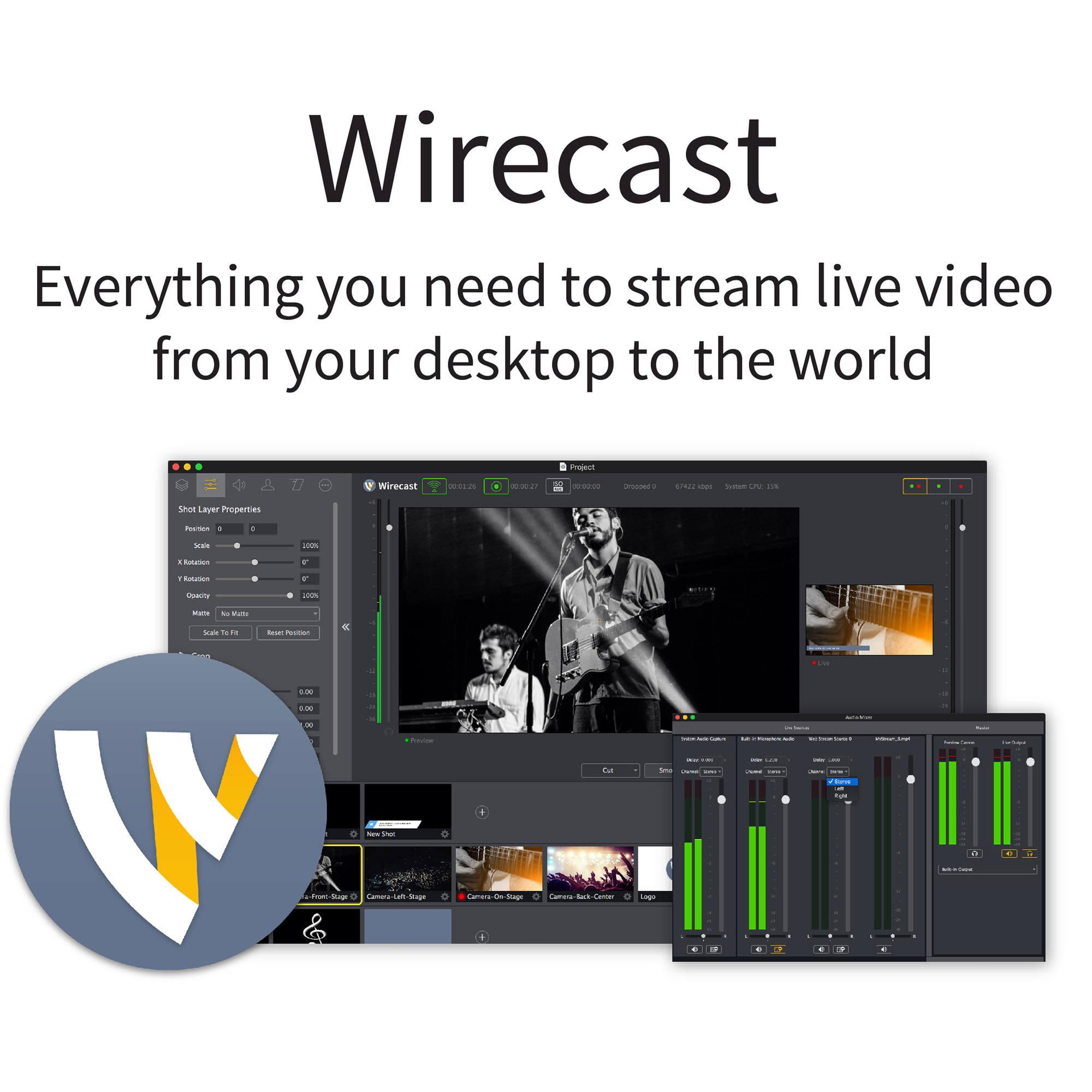 Wirecast 7.5 Crack Download Mac