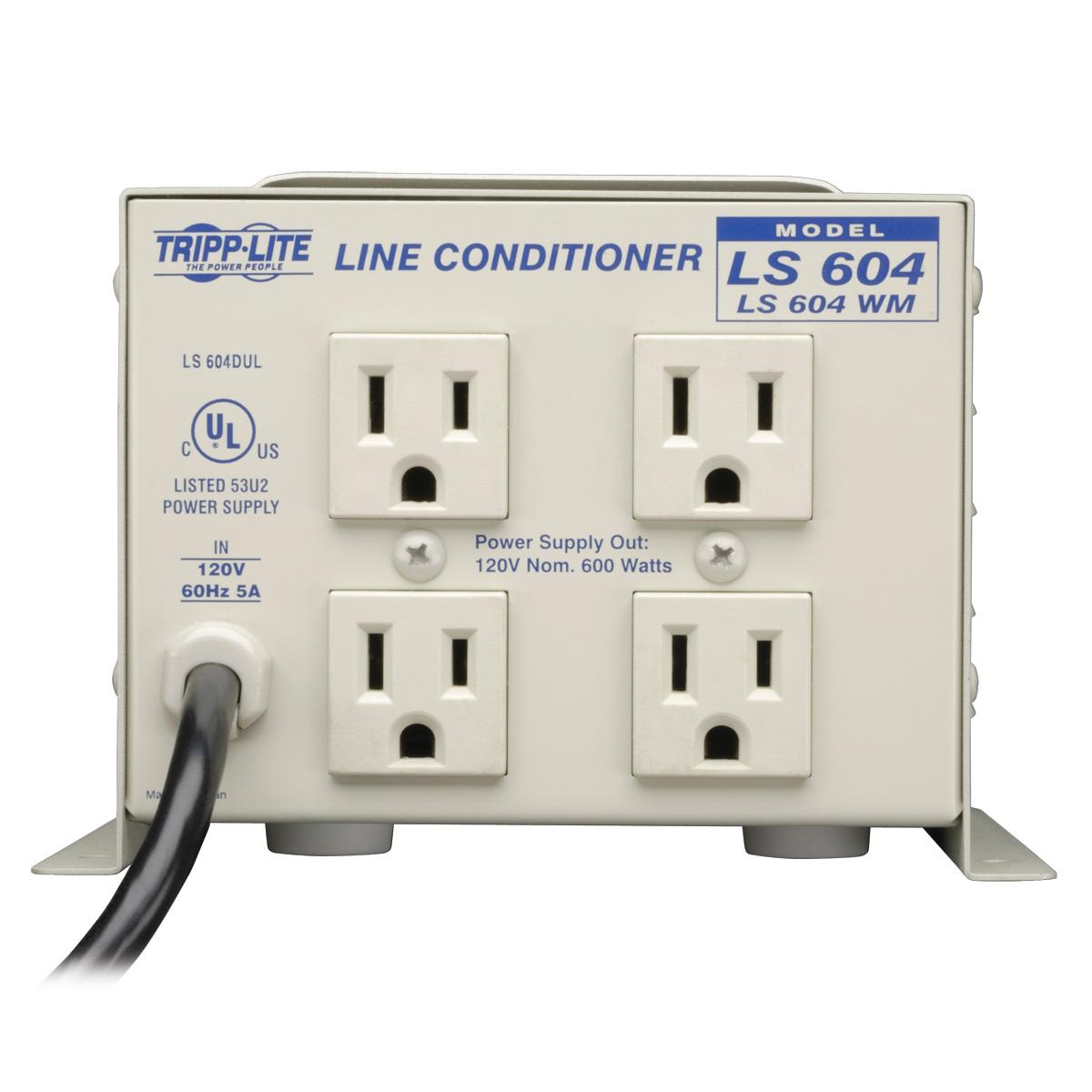 Tripp Lite Ls604wm Line Conditioner 600w Wall Mount Avr