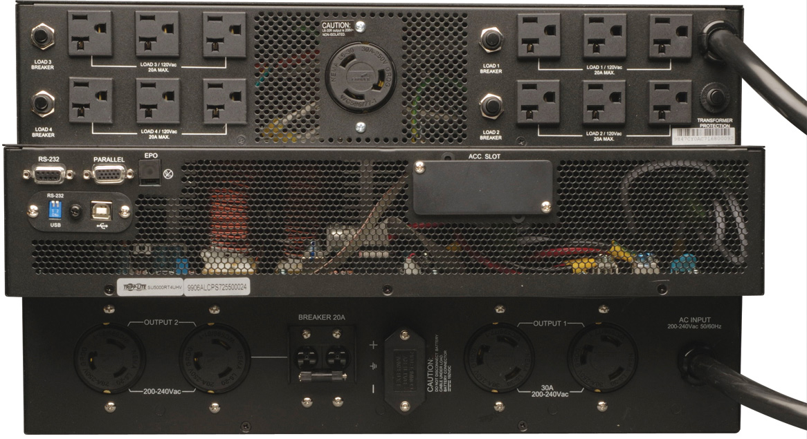 Tripp Lite Su5000rt4utf 5000va 4500w Ups Smart Online