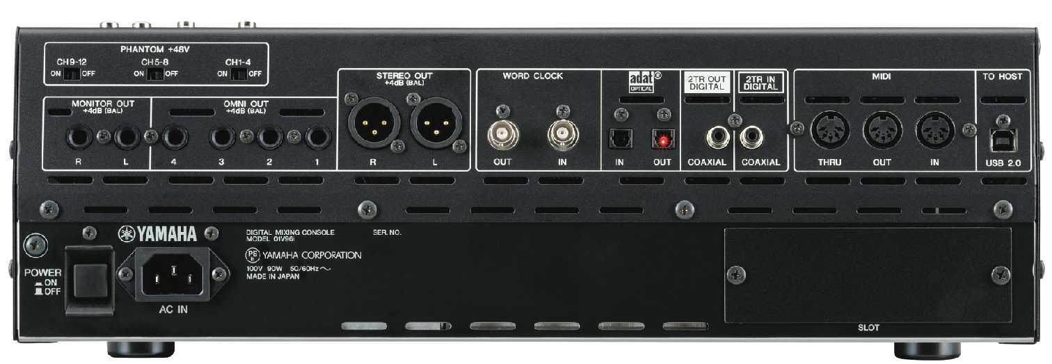 yamaha 01v96i 16 channel digital mixer w usb 2 0 connectivity. Black Bedroom Furniture Sets. Home Design Ideas