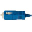 Senko 254-193-6J1 UPC Premium 125um Single Mode 900um SC Connector - Blue Boot