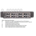 Vaddio 999-5100-000 Quick-Connect4 Video Power & Control Wiring Center