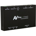AVPro Edge AC-EX100TT-UHD-KIT 100 Meter Auto Sensing VGA/HDMI HDBaseT Table Top Transmitter & HDBaseT Receiver