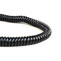 Microphone Cable Coiled 3Ft