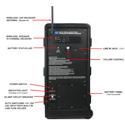 Amplivox S1297-70 Wireless Powered Companion Speaker for Digital Audio Travel Partner